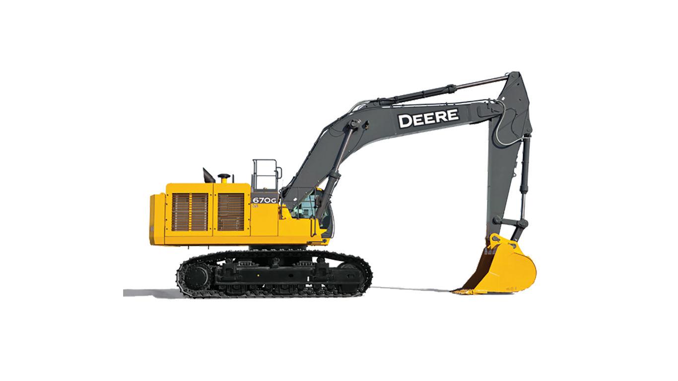 John Deere 670G LC