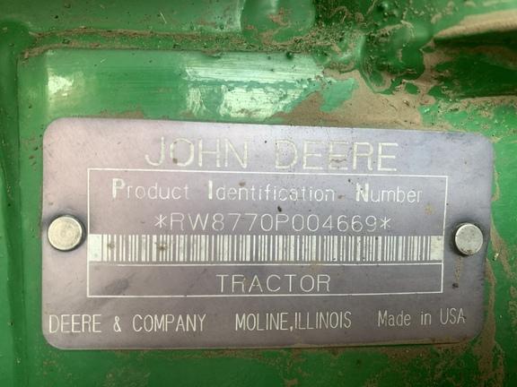 1989 John Deere 8770