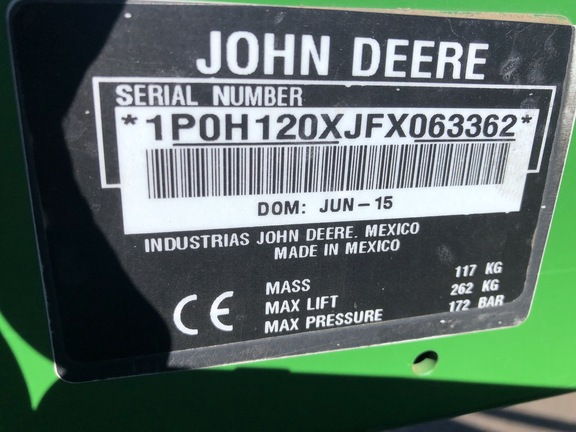 2015 John Deere 1025R