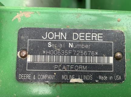 2008 John Deere 635F