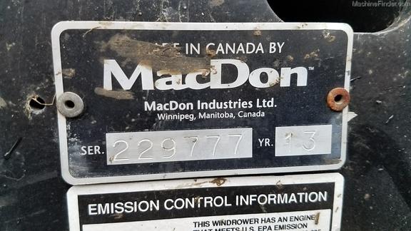 2013 Macdon M155