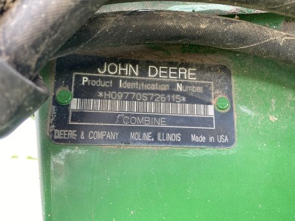 2008 John Deere 9770