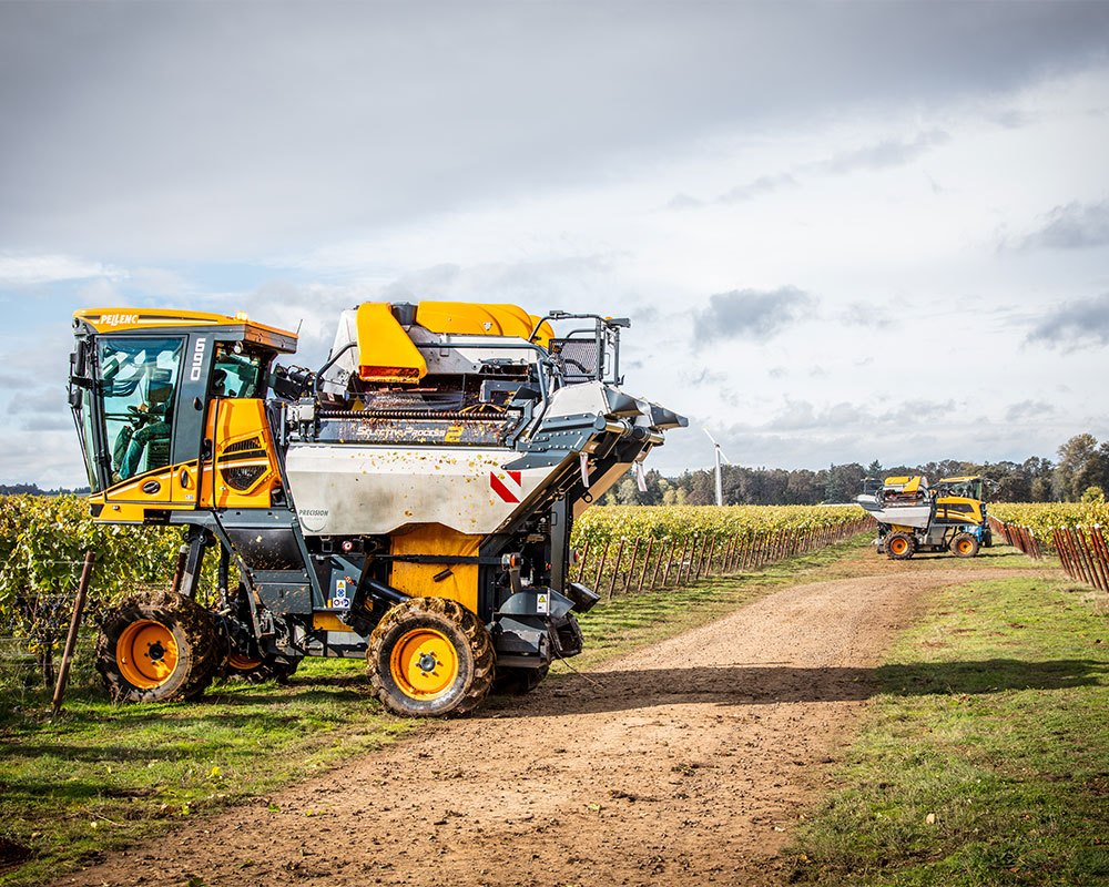 Wine Harvesting Equipment Image