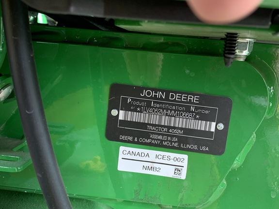 2021 John Deere 4052M