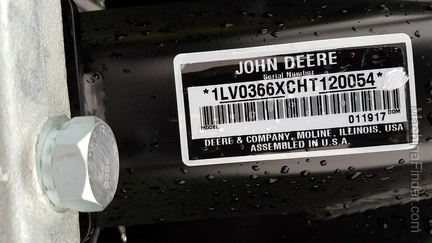 2017 John Deere 366