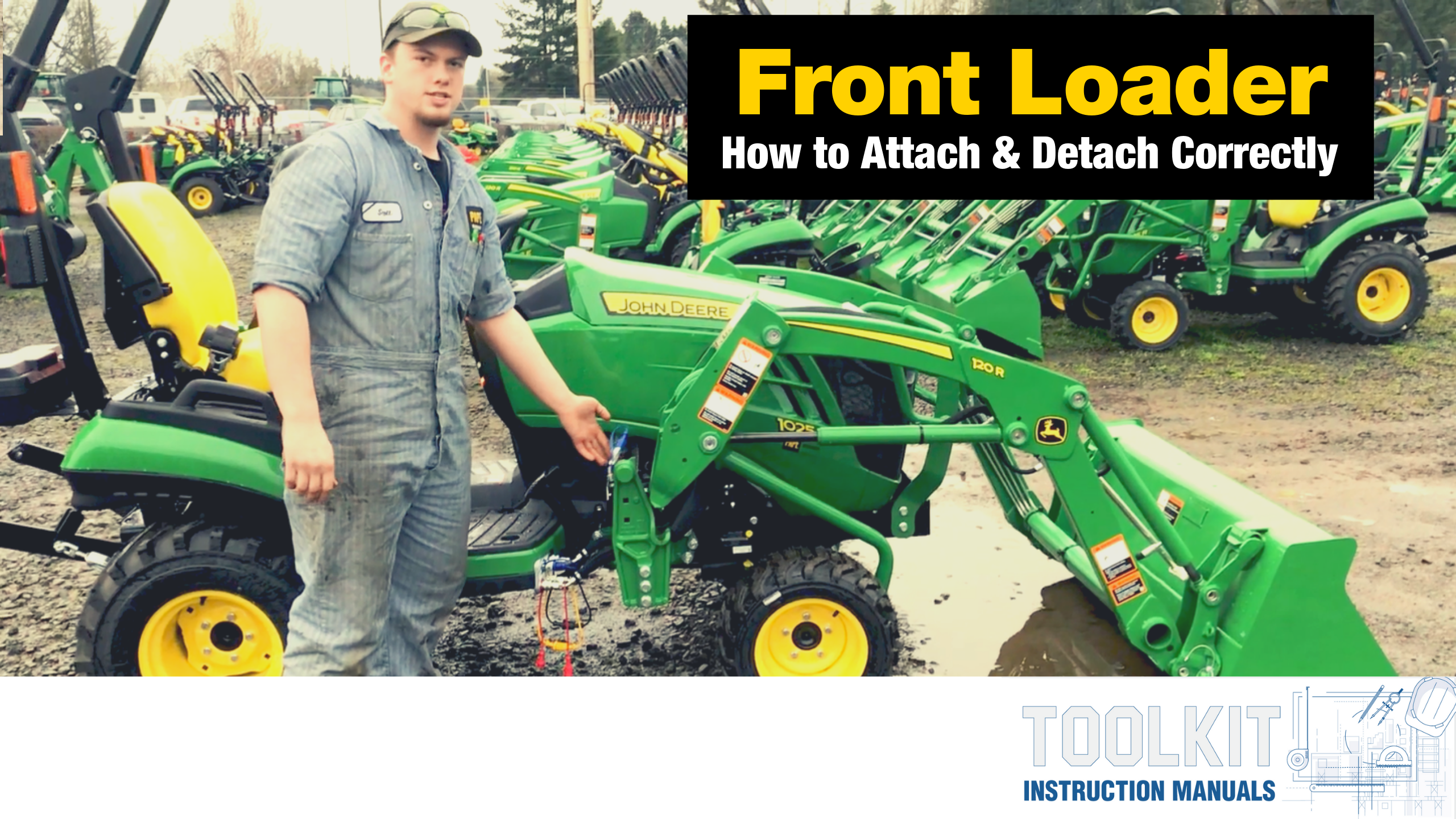 Front Loader Attach and Detach