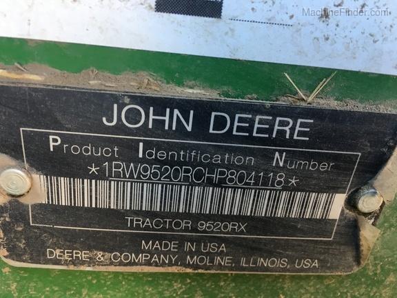 2017 John Deere 9520RX