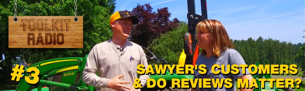 Sawyer and Customer