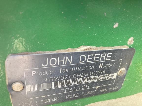 2001 John Deere 9200