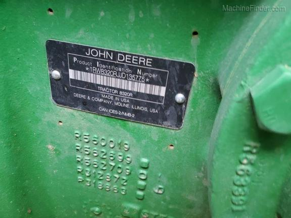 2018 John Deere 8320R
