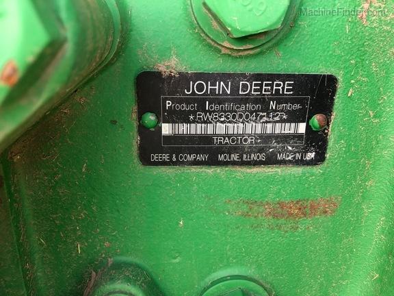 2009 John Deere 8330