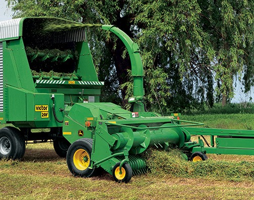 Pull-Type Forage Harvesters Equipment Image