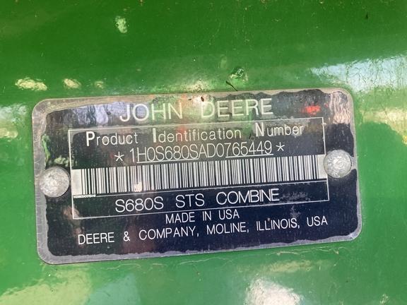 2014 John Deere S680