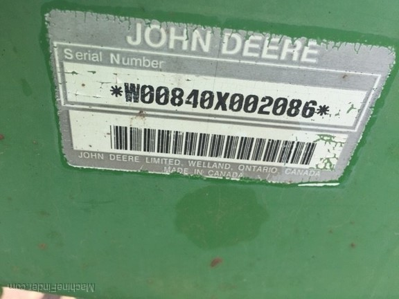 1995 John Deere 7800