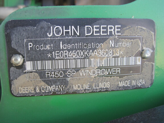 2010 John Deere R450