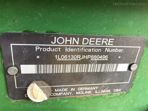 2017 John Deere 6130R