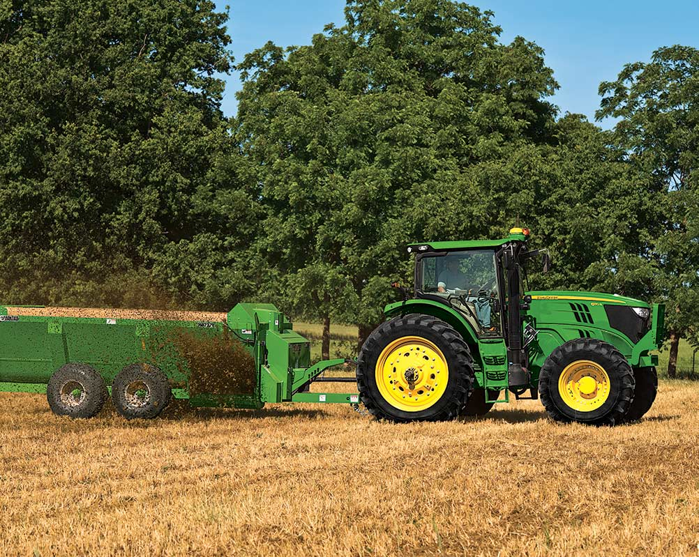 6 Series Row-Crop Tractors Equipment Image