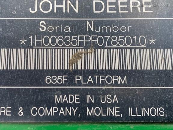 2016 John Deere 635F