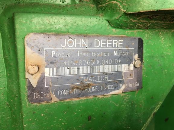 1991 John Deere 8760