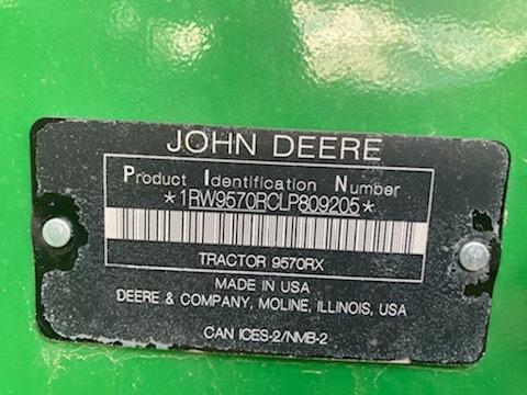 2020 John Deere 9570RX