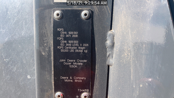 2015 John Deere 1050K