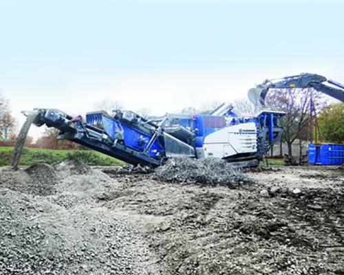 Mobile Impact Crushers Equipment Image