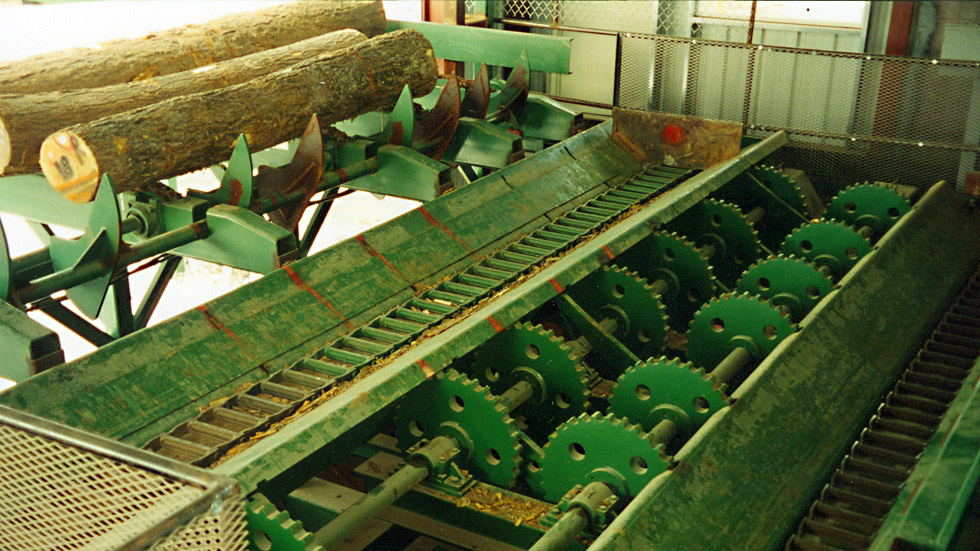 Morbark Trough-Type Conveyor