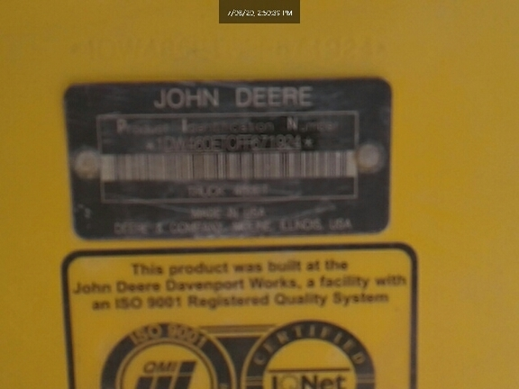 2015 John Deere 460E