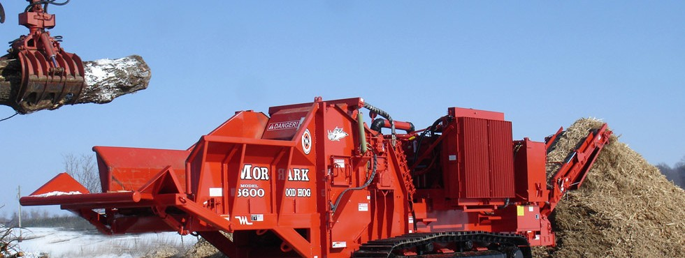 Morbark 6600 Wood Hog Horizontal Grinder