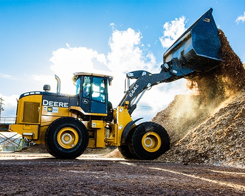 Mid-Size Wheel Loaders Equipment Image