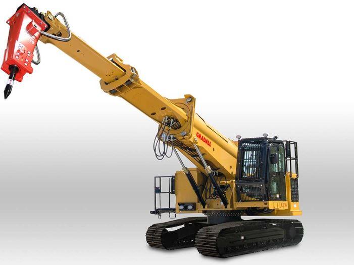 Gradall XL 7210 V (Crawler)