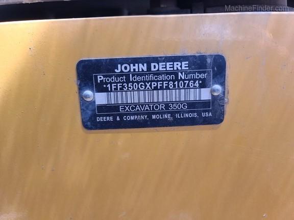 2015 John Deere 350GLC