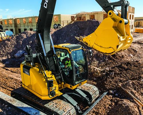 Mid-Size Excavators Equipment Image