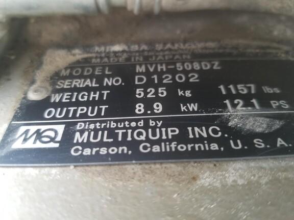 2018 Multiquip MVH508