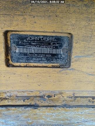 2015 John Deere 850KLG
