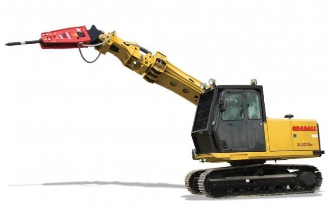 Gradall XL 3210 V (Crawler)