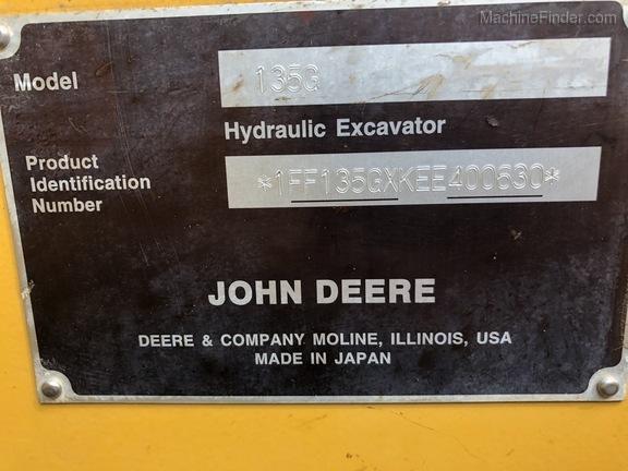 2014 John Deere 135GLC