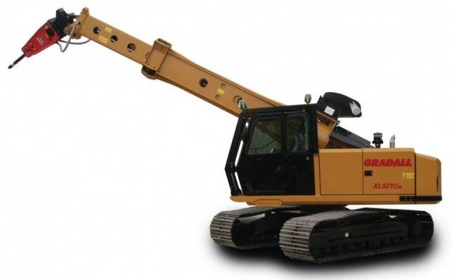Gradall XL 5210 V (Crawler)