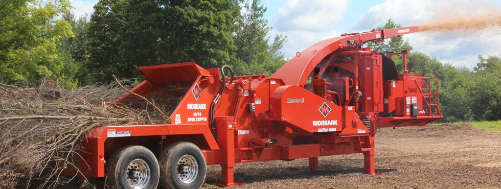 Morbark 50/48B Whole Tree Drum Chipper
