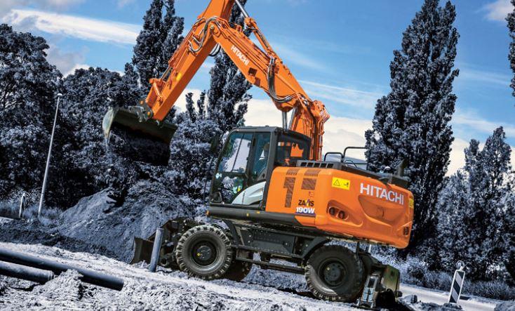 Wheeled Excavators Equipment Image