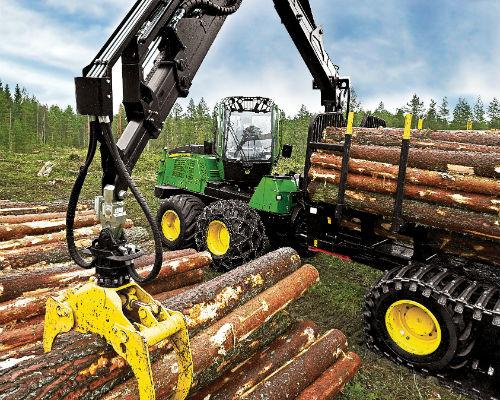 Log Stack/Chip Dozers Equipment Image