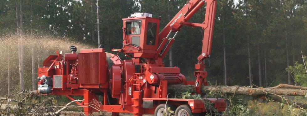 Morbark Model 30 Chiparvestor Whole Tree Chipper