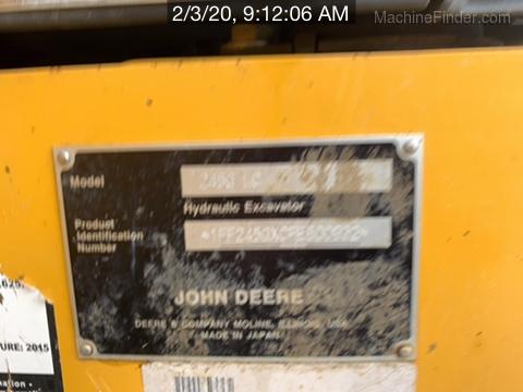 2017 John Deere 245G