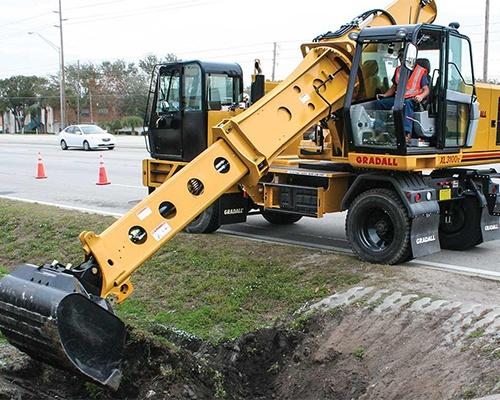 Highway Speed Excavators Equipment Image