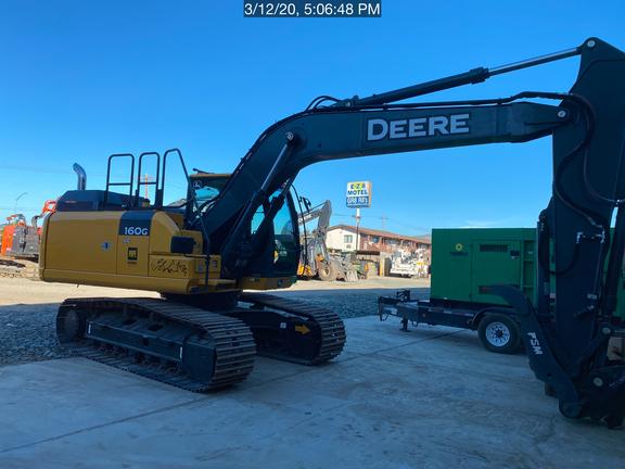2019 John Deere 160GLC