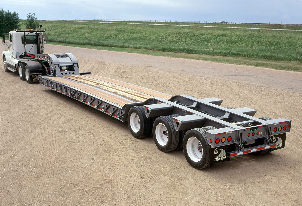 Trail King Commercial HDG Hydraulic Detachable Gooseneck