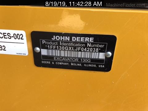 2018 John Deere 130GLC