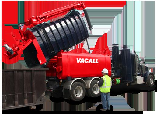Vacall AllExcavate with High Dump