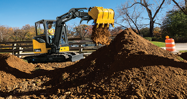 26G - Compact Excavator