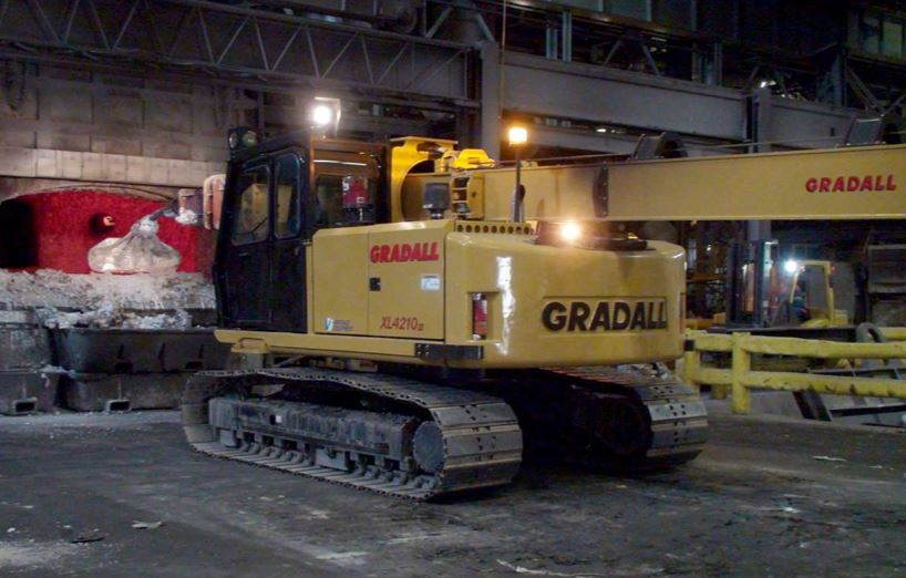 Gradall XL 4210 V (Crawler)
